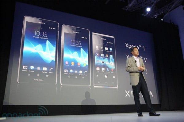 Xperia T และ Xperia J ได้ไปต่อในอังกฤษพร้อมเปิดตัวราคา Xperia Tablet S