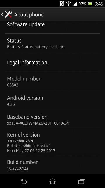 XperiaZLC6502update