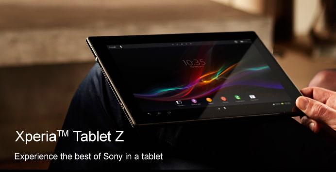 Xperia Tablet Z คว้ารางวัล Tablet of the Year งาน EISA อวอร์ด