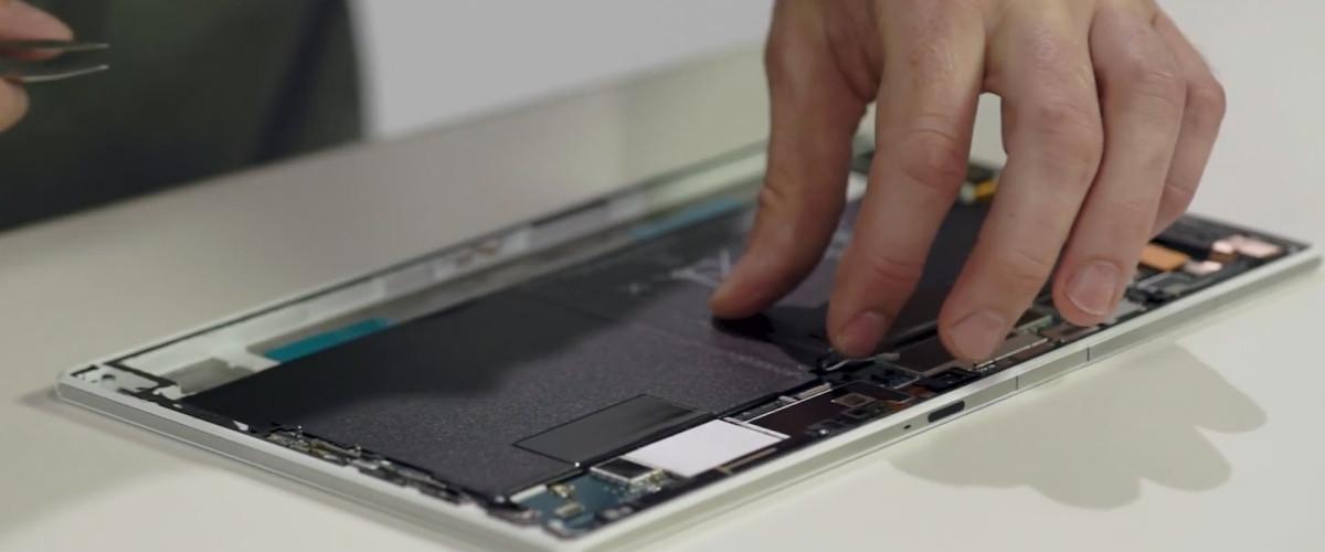 แงะ Xperia Tablet Z2 โดย SGNL