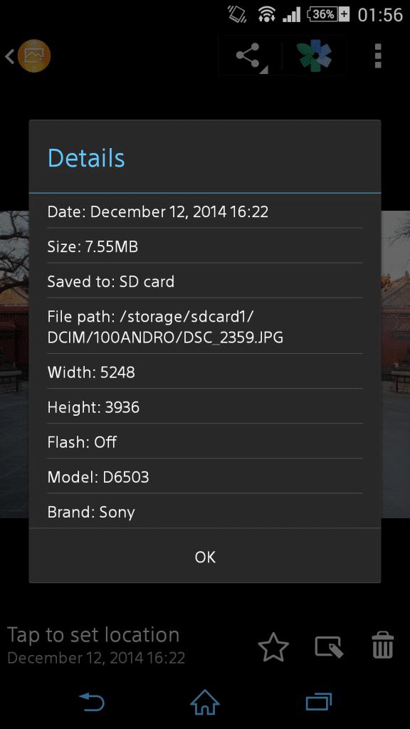 Sony ปล่อยอัพเดทแอพ Album เวอร์ชั่น 6.6.A.0.6