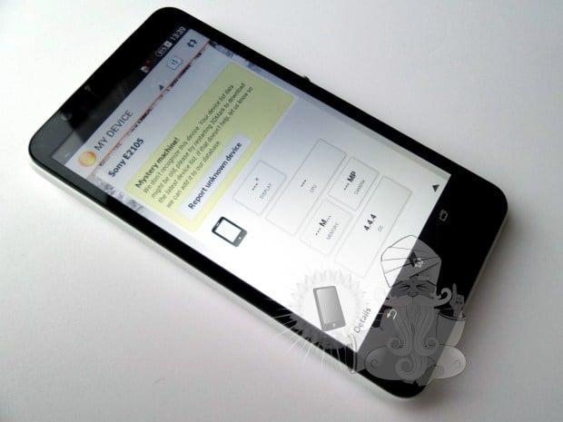 ภาพหลุด Xperia E4