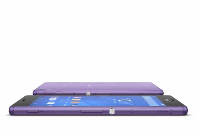 Xperia Z3 สีม่วง