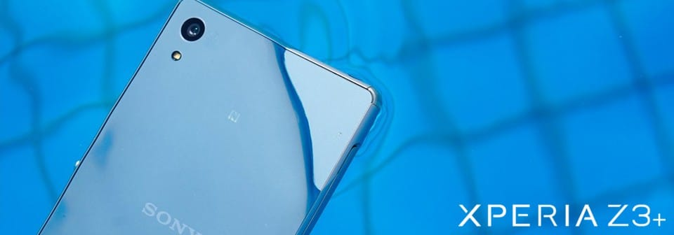 Xperia Z3+ swimming pool banner