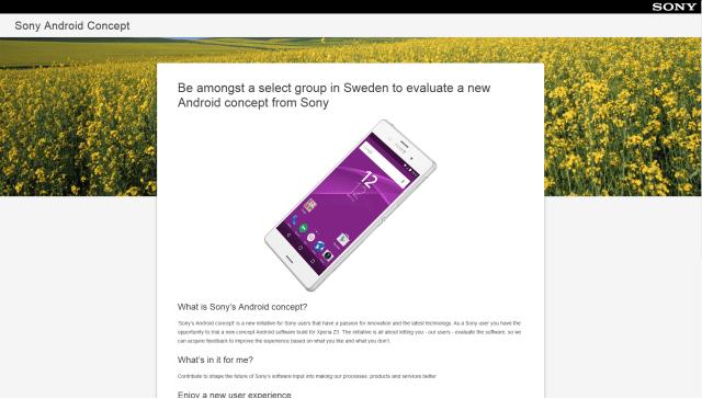 Sony กำลังทดสอบซอฟต์แวร์ Android ที่มีคอนเซปต์แบบใหม่ – เปิดรับสมัครผู้ทดสอบในสวีเดนแล้ว