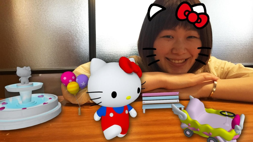 hello kitty ar effect1