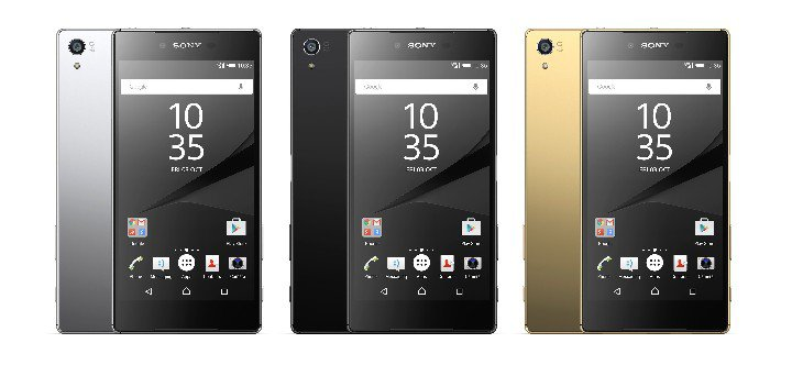 Xperia Z5 Premium color options