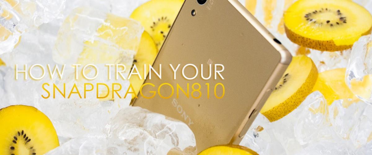 ได้ข่าวว่าโซนี่สยบ Snapdragon 810 ได้แล้ว เรามาทำให้มันเย็นขึ้นกันดีกว่า :)