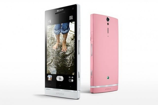 xperia s pink