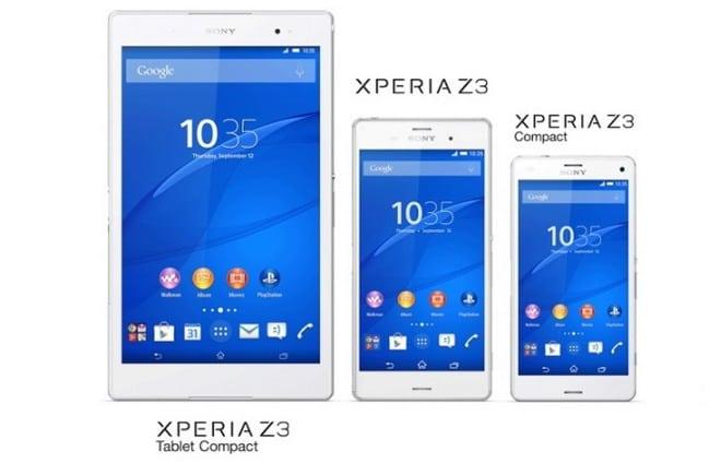 Sony-Xperia-Z3-Series