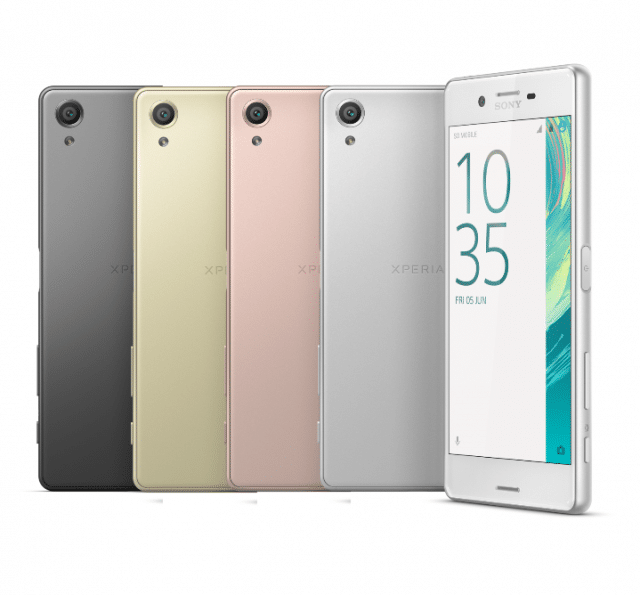 Xperia X colors