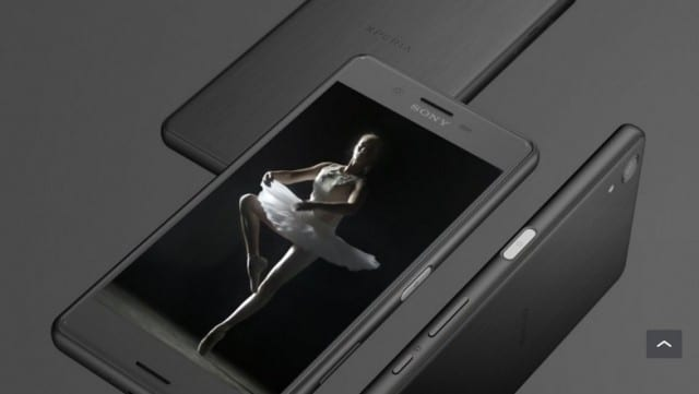 black xperia X performance