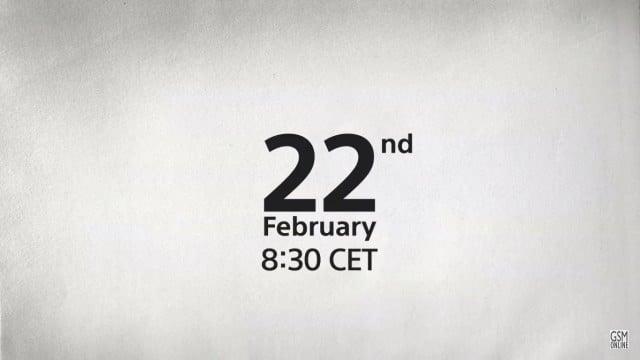 Sony ปล่อยคลิป teaser เตรียมตัวพบกันในงาน MWC 2016