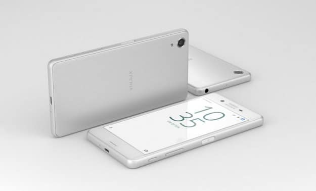 white xperia X performance