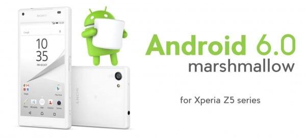 ตระกูล Xperia Z5 เครื่องศูนย์ไทยได้รับอัพเดท Android 6.0 แล้ว