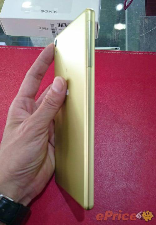 xperia xa ultra lime gold unbox 04