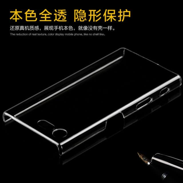 Xperia X Compact Clear case 02