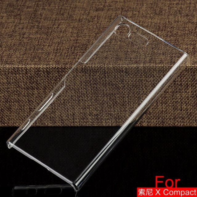 Xperia X Compact Clear case 03